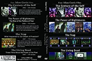 Four by Adam Curtis: Power of Nightmares, Century of Self, The Trap, The Living Dead [4-DVD set in Amaray Case, PAL]
