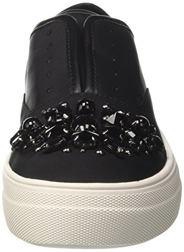 Steve Madden Passion, Sneaker a Collo Basso Donna Nero (Black Fabric)