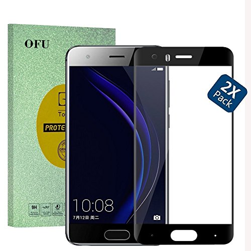 Price comparison product image Full Screen-Huawei P9 Lite Mini Smartphone Glass Screen Protector(Black)-2 Piece