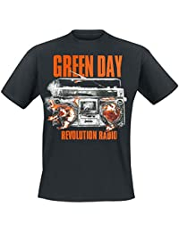 Green Day Revolution Radio T-shirt noir