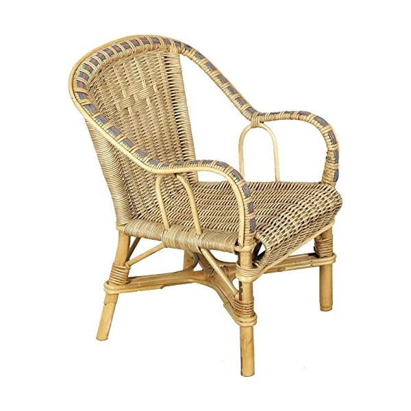 PEGANE Wicker Child's Chair in Manau, Dimensions: 41 X 42 X 50 cm PEGANE Dimensions: 38 x 32 x 89 Seat height 53 1