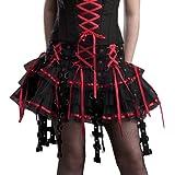 Hell Bunny Minirock Chai Skirt black/red
