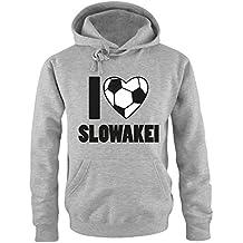 I LOVE SLOWAKEI   EM   WM   Herren Hoodie