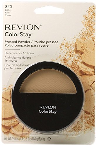 Revlon ColorStay Pressed Powder with SoftFlex, Light Pale 820, 0.3 Ounce by Revlon