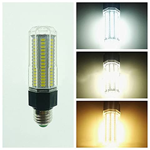 LanLan Home Lighting 360°Beam Angle Lamps E27 LED Lamp 110-265V 14W 5730 SMD 126 LEDs Corn Light Bulb Warm White