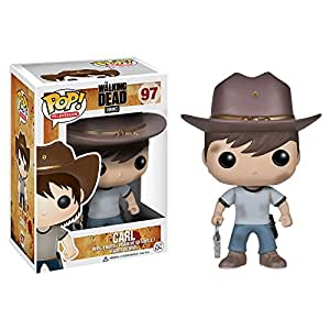 Funko POP! Television: The Walking Dead Series 4 Carl Action Figure by Funko TOY (English Manual)