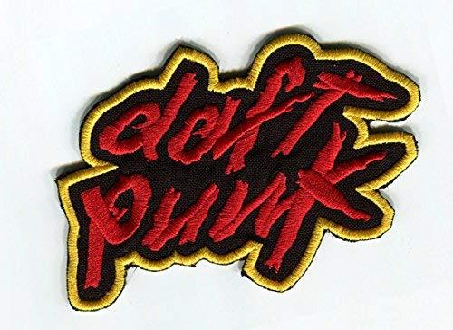 Daft Kostüm Cosplay Punk - Daft Punk Patch Bestickt Eisen/Nähen auf Badge Aufnäher Kostüm Cosplay Tribute Souvenir