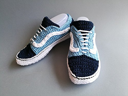 15813d461234 Crochet Pattern Adult Vans old skool