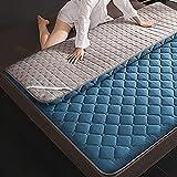 L&T waterdichte Tatami vloermat dik, wasbaar ademend Futon matras topper opvouwbare matras slaapmat slaapzaal thuis