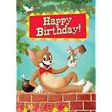 Pack de 5tarjetas de felicitación de cumpleaños gato y el ratón por Stephen Mackey