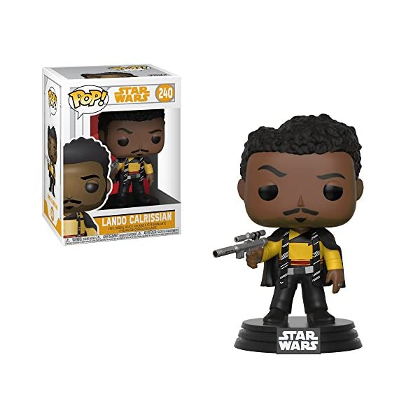 Funko Pop Lando Calrissian (Star Wars 240) Funko Pop Han Solo: Una Película de Star Wars