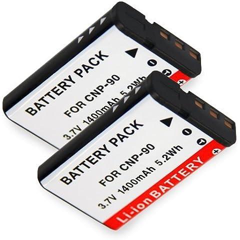 Patona 4055655036979 - 2 x bateria comp. np-w126 para fujifilm finepix x-pro 1 hs30 exr hs30exr hs-30exr hs33 exr hs33exr hs-33exr hs50exr x-e1