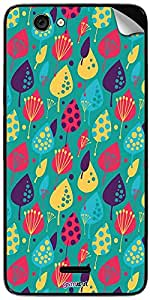 GsmKart MCKC Mobile Skin for Micromax Canvas Knight Cameo (Green, Canvas Knight Cameo-860)