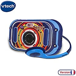 VTech- Kidizoom Touch 5.0 Appareil Photo, 163505, Bleu