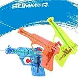 Keepex Kinder Transparent Wasserpistolen Wassergewehr Wasserspielzeug Badespielzeug Pool Spielzeug Zufällige Farbe