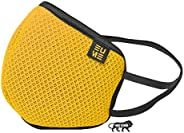 EUME Protect +95 Face Mask Washable - Reusable, Anti Dust/Pollution and Anti Bacterial Shield with 4 Layered P