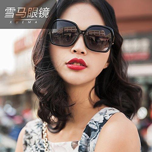 BM weibliche Mode xuema polarisierenden Sonnenbrillen Sonnenbrille uv - rosa Sonnenbrille Sonnenbrille,lila Rahmen