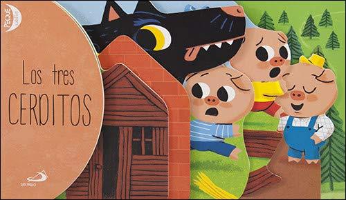 Los tres cerditos: PequeCuentos (Cuentos ilustrados)
