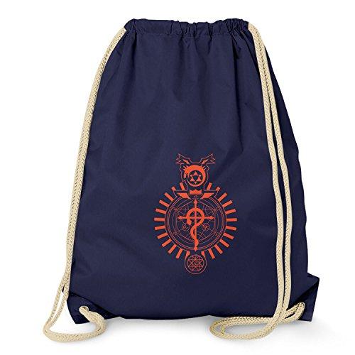 NERDO - Winchester Symbols - Turnbeutel, navy (Kostüm Der 8. Henry)