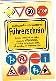 Glückwunschkarte Führerschein - Schilderwald - Glückwunsch zum bestandenen Führerschein - Mehrfarbig - mit Briefumschlag
