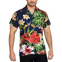 Uomo Hawaiana Floreale Club Da Camicia Cubana Maniche Slim Casual Fit A Corte Classica 6fb7IYygv