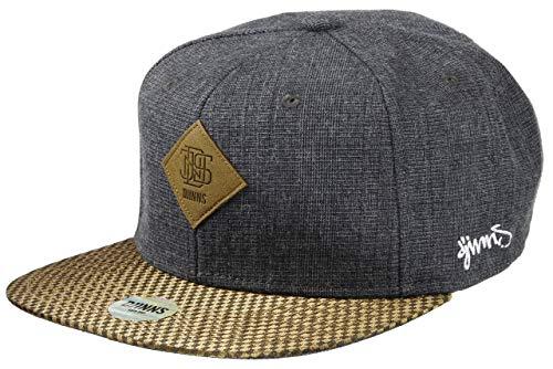 DJINNS - Glencheck (grey) - Snapback Cap