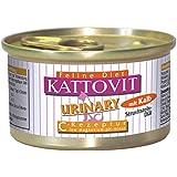 Kattovit Katzenfutter Urinary Kalb 85 g, 24er Pack (24 x 85 g)