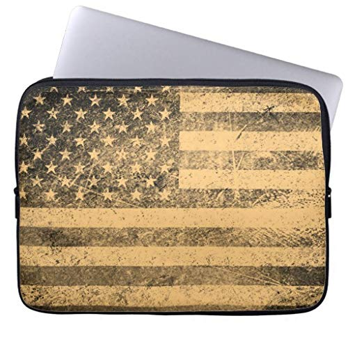 n Flag Grunge Protection Laptop Sleeve Dell XPS 11.6 12 Inch Cute Notebook Computer Case for Kids Boys ()