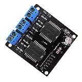 Hemore HW-231 Dual MC33886 Motor Driver Board Erweiterungsmodul 5A für Roboter Smart Car Zubehör Kits