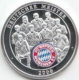 Generic Medaille FC Bayern München 2000 Polierte Platte 2000 Deutscher Meister (Münzen für Sammler)