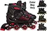 Best Roller Skates - Techhark Premium Quality Inline Skating, Skates Size Adjustable Review