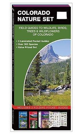 Colorado Nature Set: Field Guides to Wildlife, Birds, Trees &