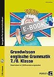 Grundwissen englische Grammatik 7./8. Klasse: Materialien in 2 Differenzierungsstufen