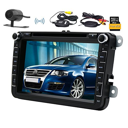 Wireless Camera HD 8 '' Wince autoradio