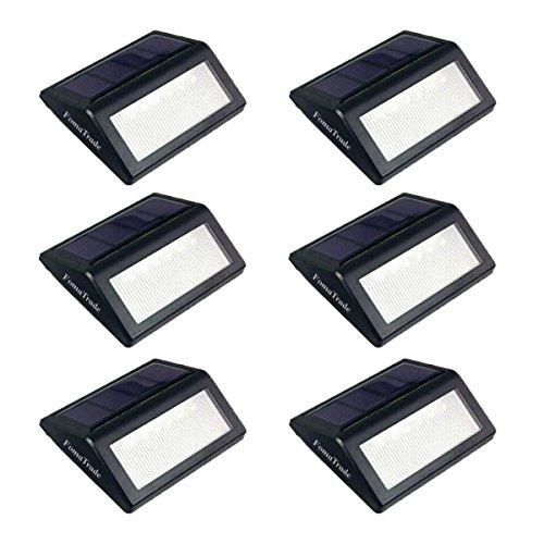 fomatrade-luce-led-solare-lampada-da-parete-luce-giardino-percorso-luce-per-giardino-parco-recinzion