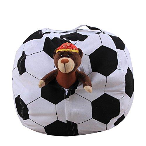 BAIVIT World Cup Sitzsack Kinder Spielzeug Aufbewahrungstasche Kleidung Aufbewahrungsbox Dekoration...