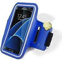 Custodia per Samsung Galaxy S7Edge, Bastex Blu Scuro Guide Custodia