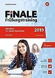 FiNALE Prüfungstraining Abschluss 10. Klasse Realschule Niedersachsen: Deutsch 2019 Arbeitsbuch mit Lösungsheft