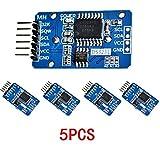 Hrph 5 Stück DS3231 AT24C32 IIC Präzisions-Echtzeituhrmodul Speichermodule für Arduino