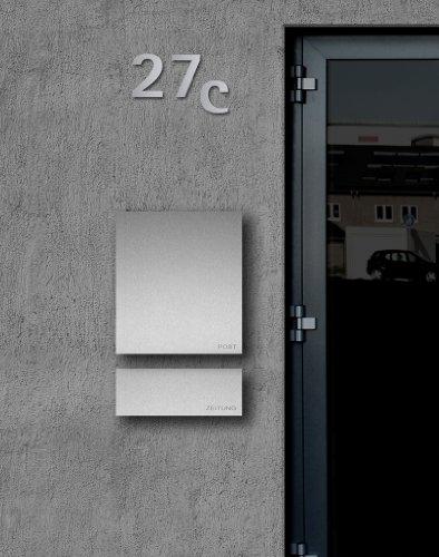 ZED Briefkasten aus Edelstahl – Höchste Qualität - 2