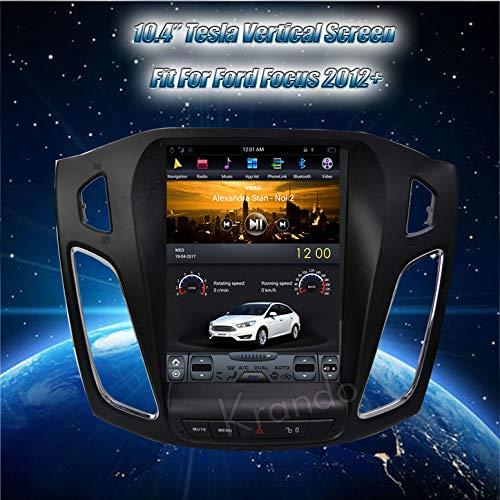 'Radio krando Android 10.4Pantalla Vertical GPS para Ford Focus 2012+ con Bluetooth