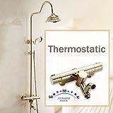 'galvanik Retro rubinetto lusso valvola mixer doccia impianto parete 8Eco Whirlpool Vasca armatura mischbatterie doccia rubinetto
