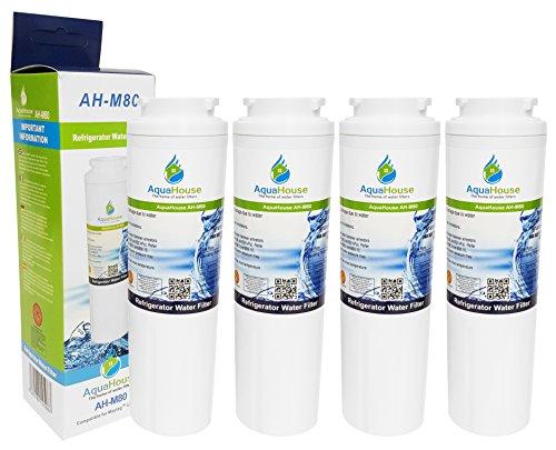 4x AH-M80 kompatibel für Maytag UKF8001 Wasserfilter, UKF8001AXX, Puriclean II PUR, Amana, Admiral, KitchenAid, Kenmore, Kühlschrank Filter (Kühlschrank-filter Ukf8001 Pur)