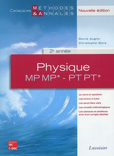 Physique MP MP* - PT PT* 2e année