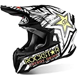 CASCO CROSS TWIST ROCKSTAR MATT AIROH NEW 2016 TG S