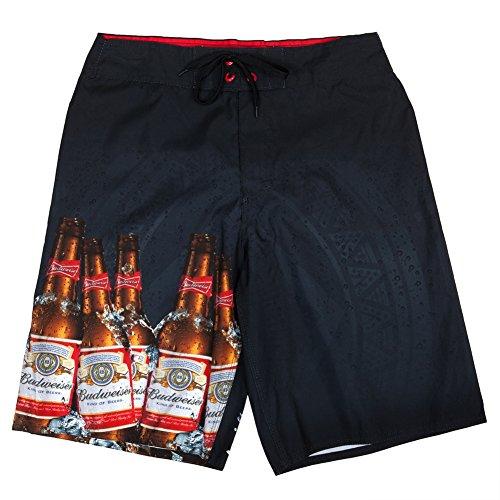 budweiser-photo-real-bottle-navy-board-shorts-m
