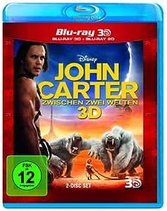 John Carter - Zwischen 2 Welten (inkl. 2D Blu-ray) [3D Blu-ray]