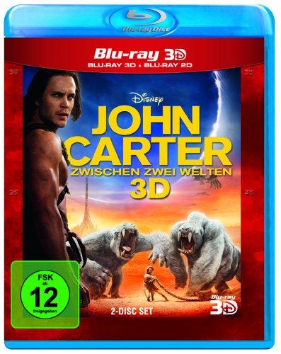 John Carter - Zwischen 2 Welten (inkl. 2D Blu-ray) [3D Blu-ray] (Stadt Lynn M)
