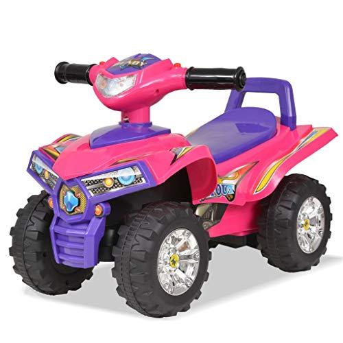 vidaXL Kinderfahrzeug Sound Licht Kinder Fahrzeug Elektroquad Auto Kinderauto