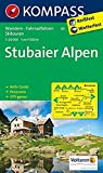 Stubaier Alpen: Wanderkarte mit Aktiv Guide, Panorama, alpinen Skirouten und Radrouten. GPS-genau. 1:50000: Wandelkaart 1:50 000 (KOMPASS-Wanderkarten, Band 83)